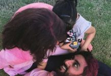Aishwarya and abhishek holi photos