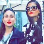 Kareena with sonam kapoor