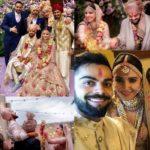 Virat kholi and anushka sharma marriage photos