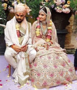 virat and anushka marriage photo