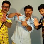 Sunny Deol, Bobby deol and shreyash talpade